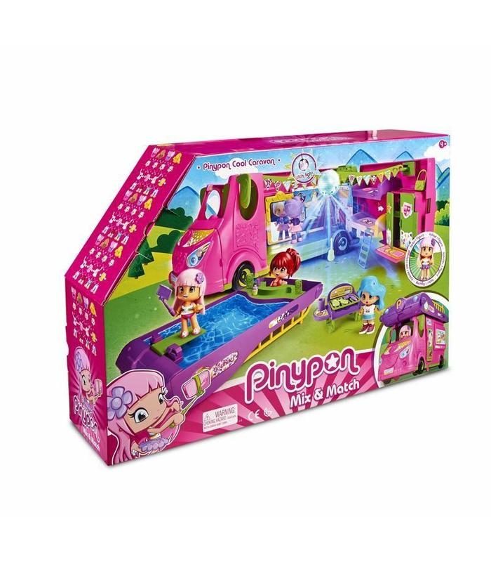 Pinypon Cool Caravan Toy Store