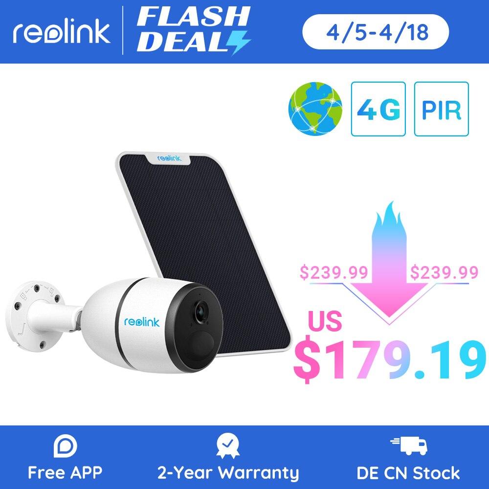 Reolink 4G LTE камера GO 1080p звездный свет ночное видение работа с sim-картой Всепогодная аккумуляторная батарея питание ip камера