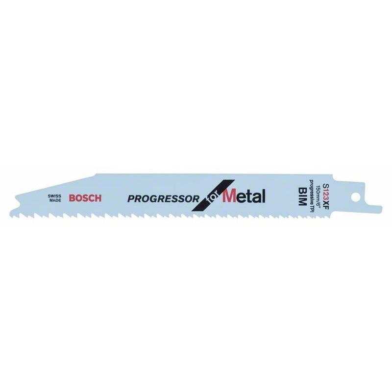 BOSCH-saw Blade Sable S 123 XF Progressor For Metal