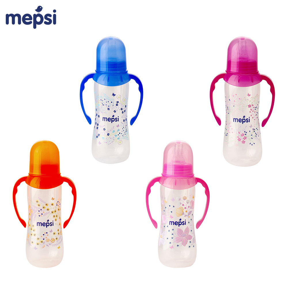 Bottles MEPSI 0203 Baby Kids Children nipple Feeding with handles