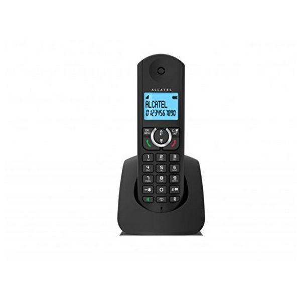 Drahtlose Telefon Alcatel F380S DECT Schwarz