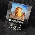 Пользовательский акриловый музыкальный постер, Обложка альбома, яблочный музыкальный налет, Spotify стекло, высокое качество, УФ-печать