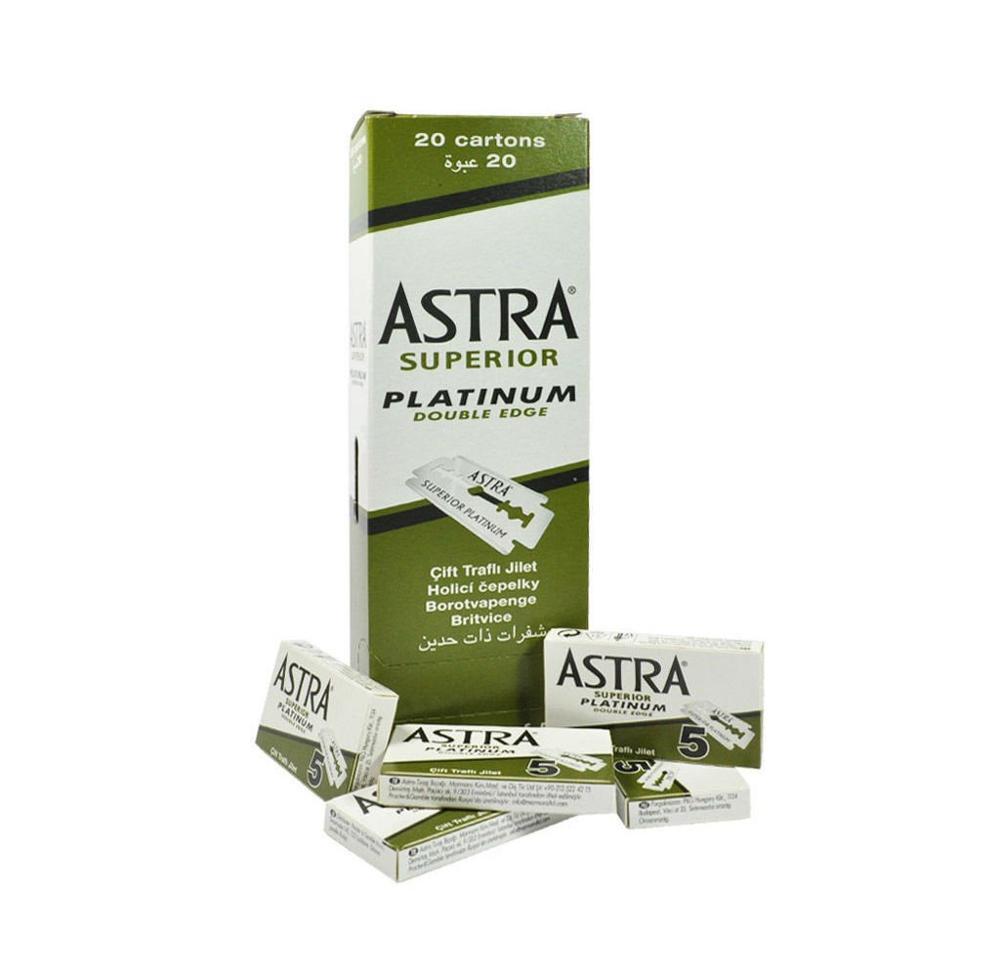 100 Astra   Platinum Razor Blades