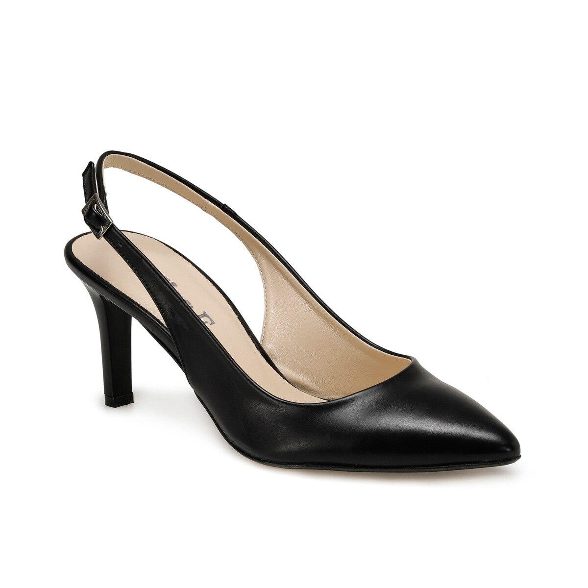 FLO DS20045 Black Women Gova Shoes Miss F