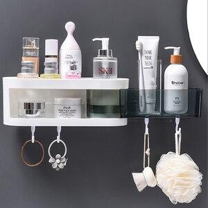 Image 2 - Настенная угловая полка для ванной комнаты, шампунь, искусственная кухонная полка, органайзер, бытовые предметы, аксессуары для ванной комнаты