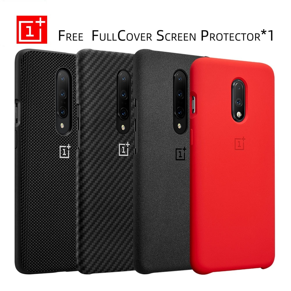 <font><b>Oneplus</b></font> 7 Pro <font><b>Case</b></font> Original 100% from <font><b>Oneplus</b></font> Official Protective Cover Nylon <font><b>bumper</b></font> Sandstone <font><b>Case</b></font> one plus 7 <font><b>Oneplus</b></font> <font><b>6T</b></font> image