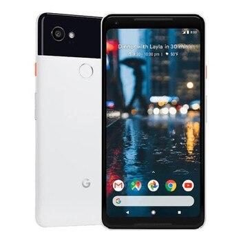 Перейти на Алиэкспресс и купить Google Pixel 2 XL белый/черный 128 ГБ G011C