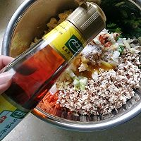 好吃的菜团子#太太乐鲜鸡汁芝麻香油#的做法图解11
