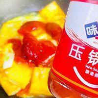 """#美食说出""""新年好""""#茄汁鸡蛋豆腐的做法图解13"""