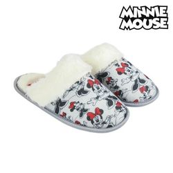 Kapcie do domu myszka Minnie szara biel -