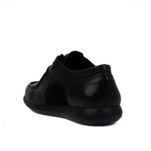 Image 4 - Sail lakers sapatos de couro genuíno dos homens marca calçado antiderrapante grosso único moda sapatos casuais masculinos de alta qualidade mocassins zapatos de hombre