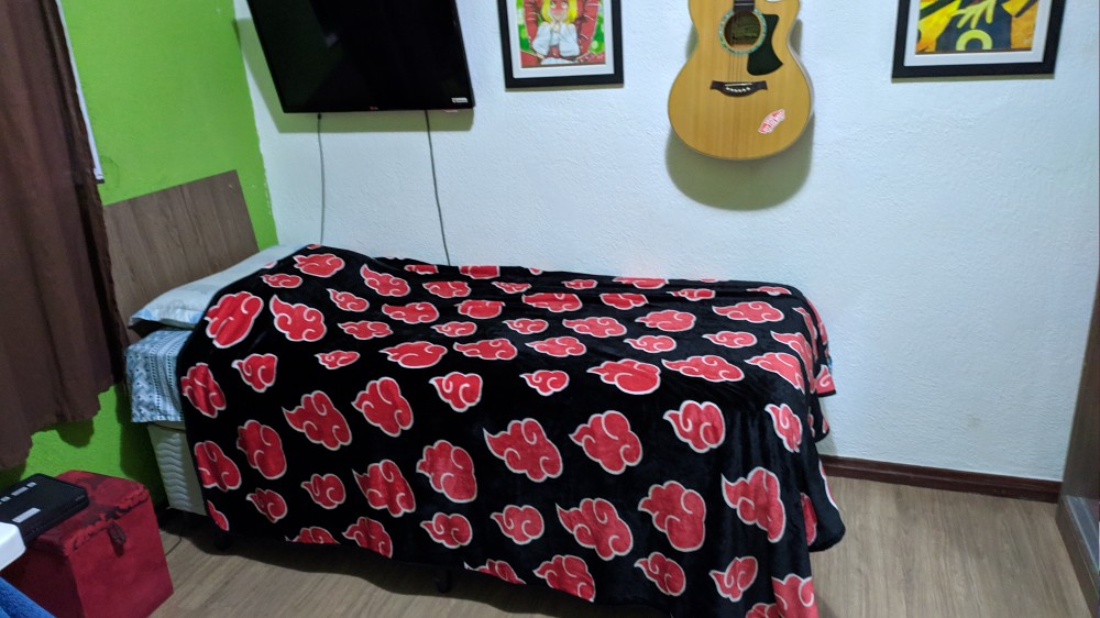 Naruto Akatsuki Blanket Fleece Sheet photo review