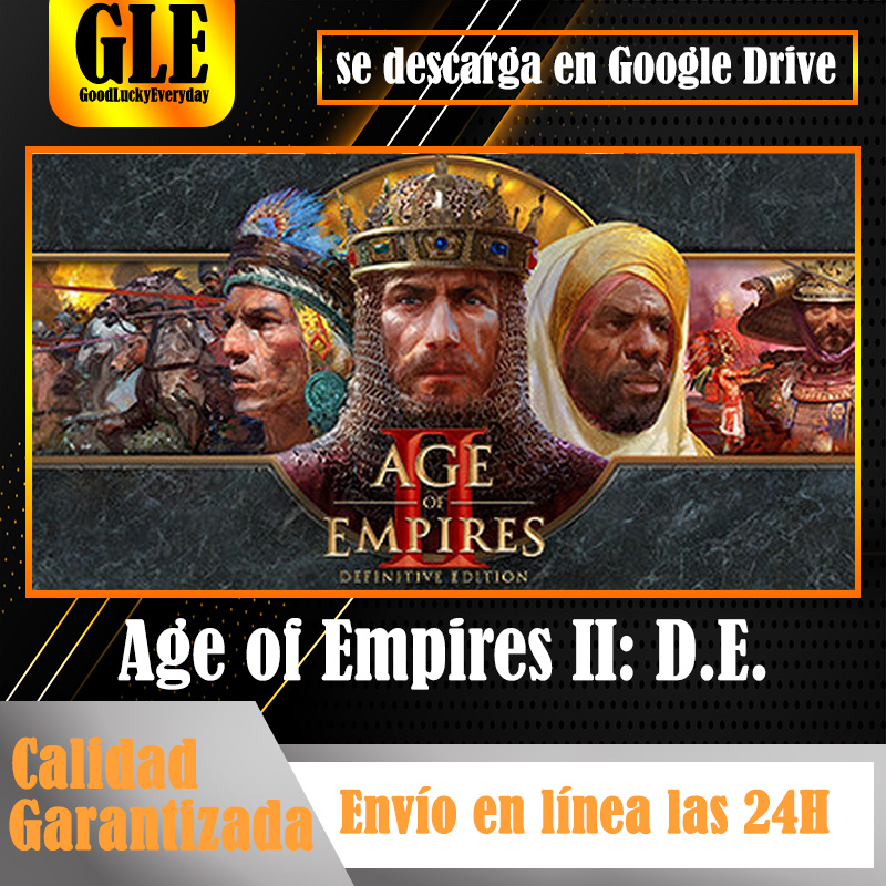 Age of Empires II: definitive Edition Video Games application for PC unique games application download Google Drive decompress with Winzip Winr image