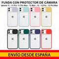 Iphone 11 11 Pro Max 12 mini 12 12 Pro 12 Pro Max защитный чехол для камеры позволяет наручным часам логотип Силиконовый ТПУ Доставка из Испании