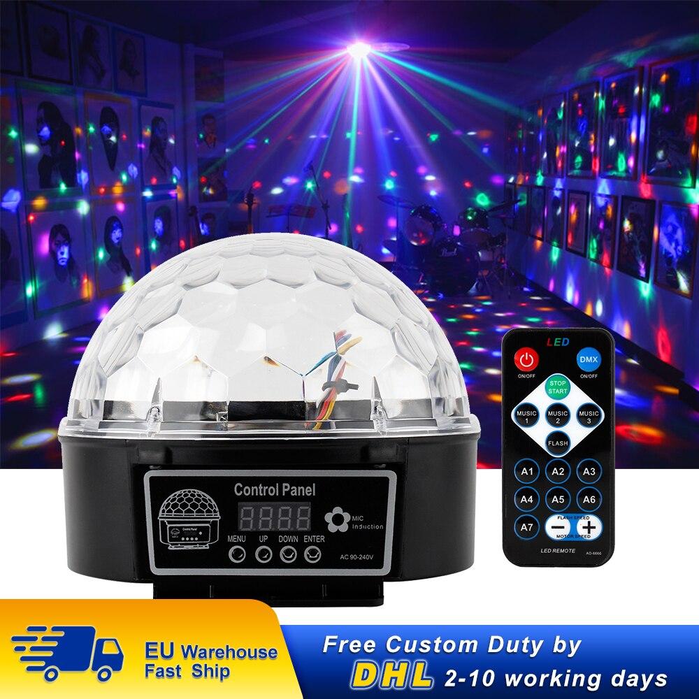 Lampe LED Disco effets éclairage de scène effet lampe de fête avec télécommande pour Disco Bar fête Halloween piste de danse de mariage