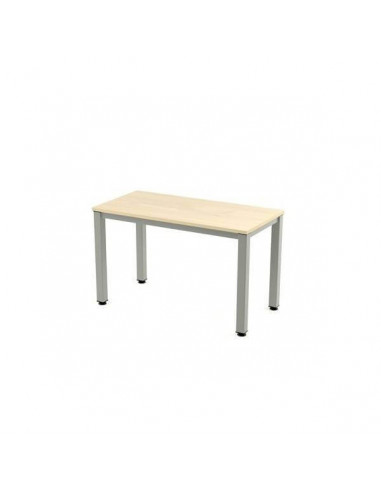 TABLE EXECUTIVE ROCADA <font><b>120X60</b></font> CM STRUCTURE GRAY AND BOARD MELAMINE HAS image