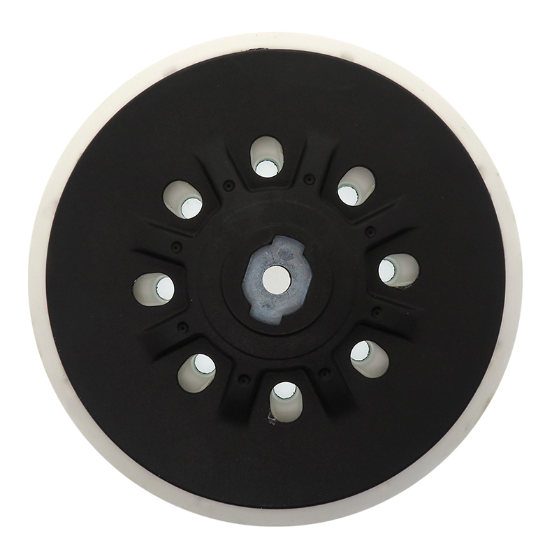 6 Inch 48-Hole Back-up Sanding Pad M8 Thread for Hook and Loop Sanding Disc Dust Dust