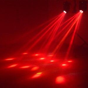 Image 4 - Dmxパーティーライトスーパービーム4 × 25ワットled移動ヘッドライトステージプロの照明2ピース/ロット