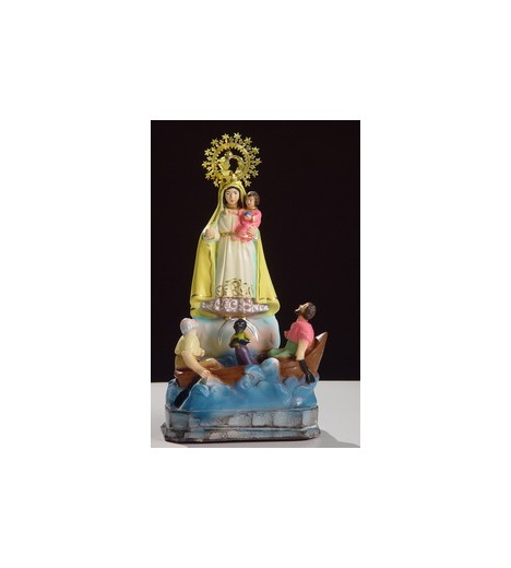 Our Lady Of Charity Copper (Ochun) (Oshun) 20 Cm Plaster
