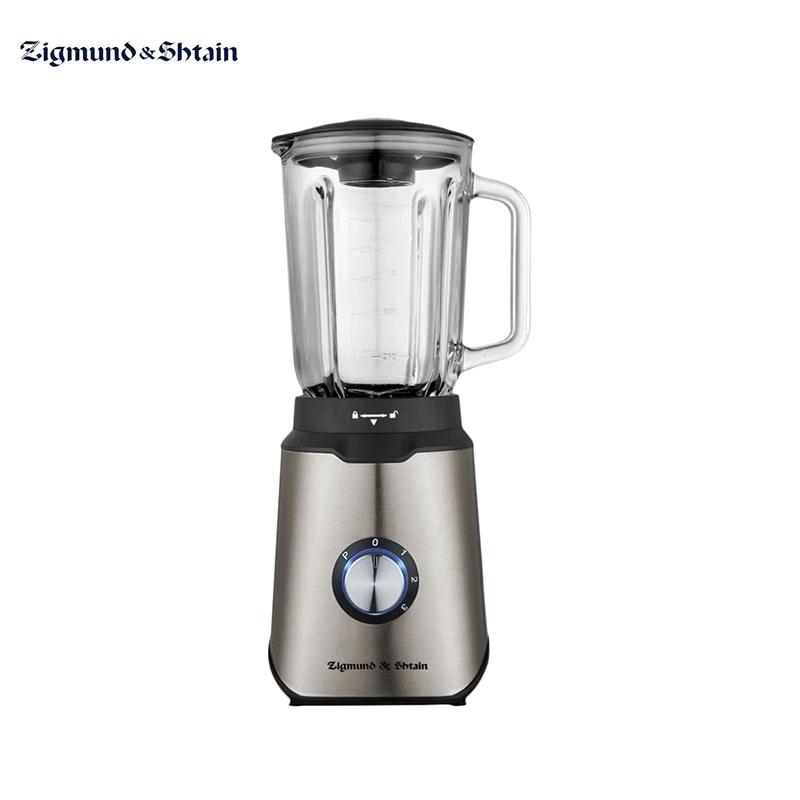 Stationary Blender Zigmund & Shtain BS-438 D Kitchen For Smoothies Chopper Electric Shredder Machine Appliances For Kitchen