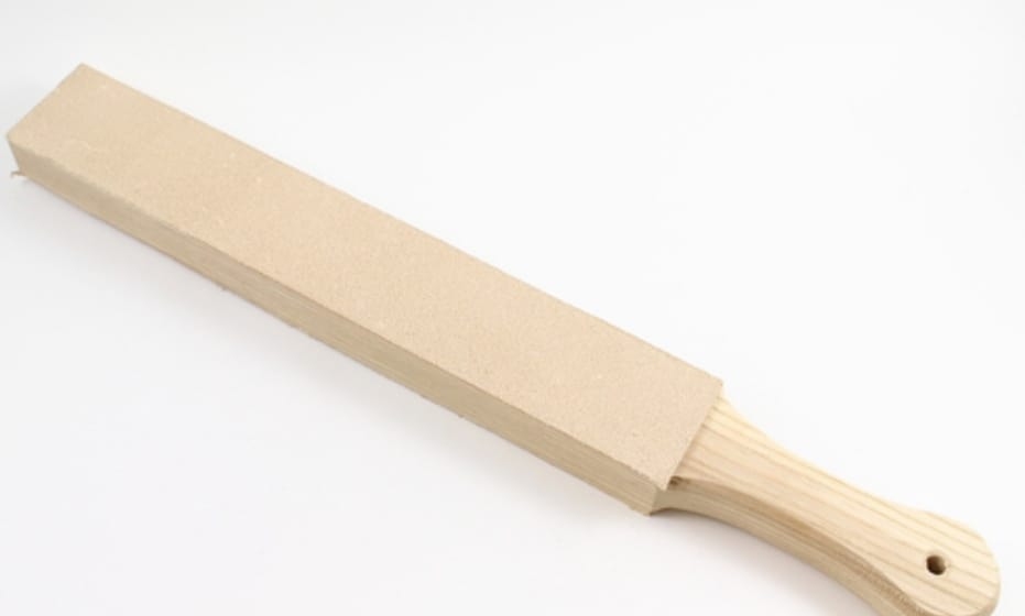 Leather Strop, Sized Perfectly For Sharpening Pocket Knives.