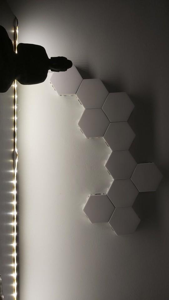 Hexagonal Creative LED Lights photo review
