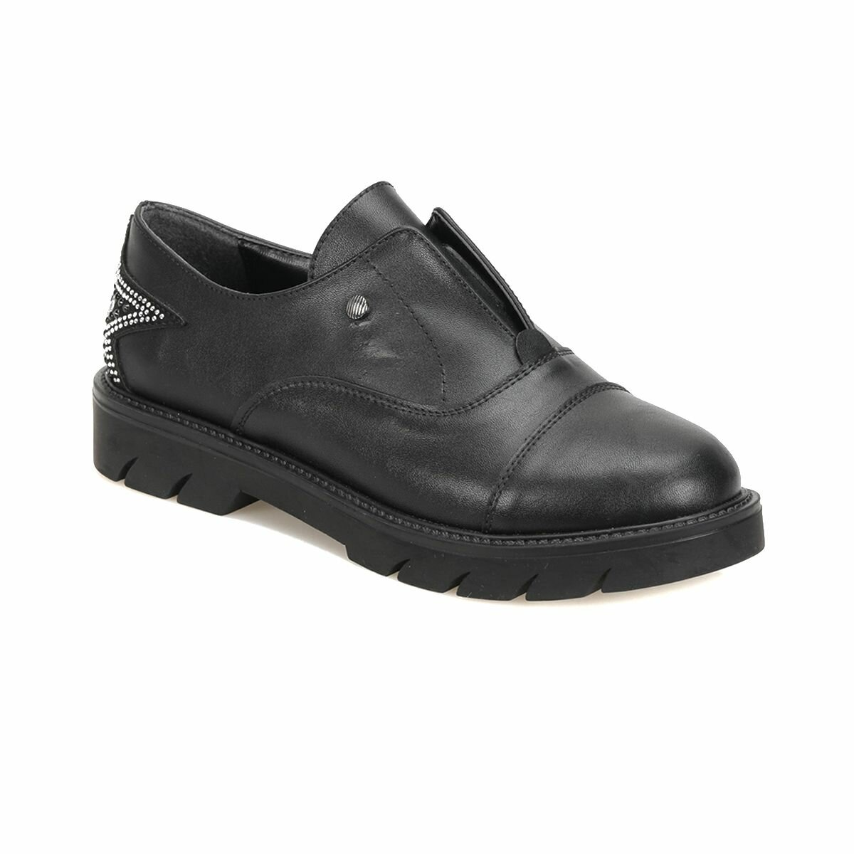 FLO 18K-259 Black Women Oxford Shoes BUTIGO