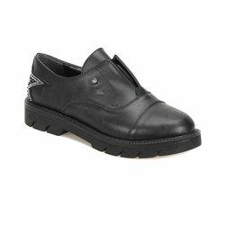 FLO 18K-259 Schwarz Frauen Oxford Schuhe BUTIGO