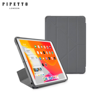 Case pipetto for iPad 10.2 (2019) clear origami back cover (pi30 103 7bc)