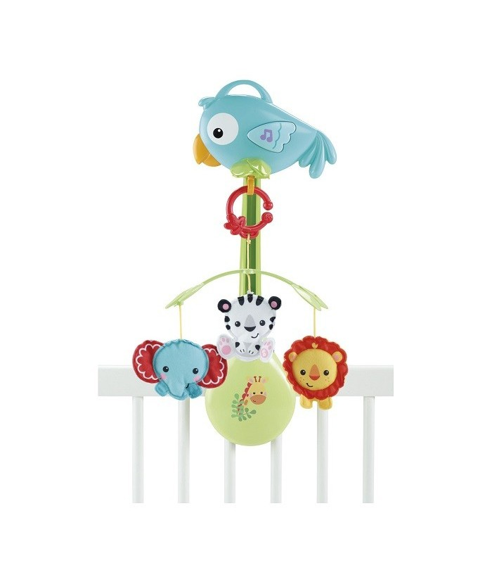 CAROUSEL MUSICAL MOBILE 3 IN 1 BABY BEAR FISHER PRICE CHR11