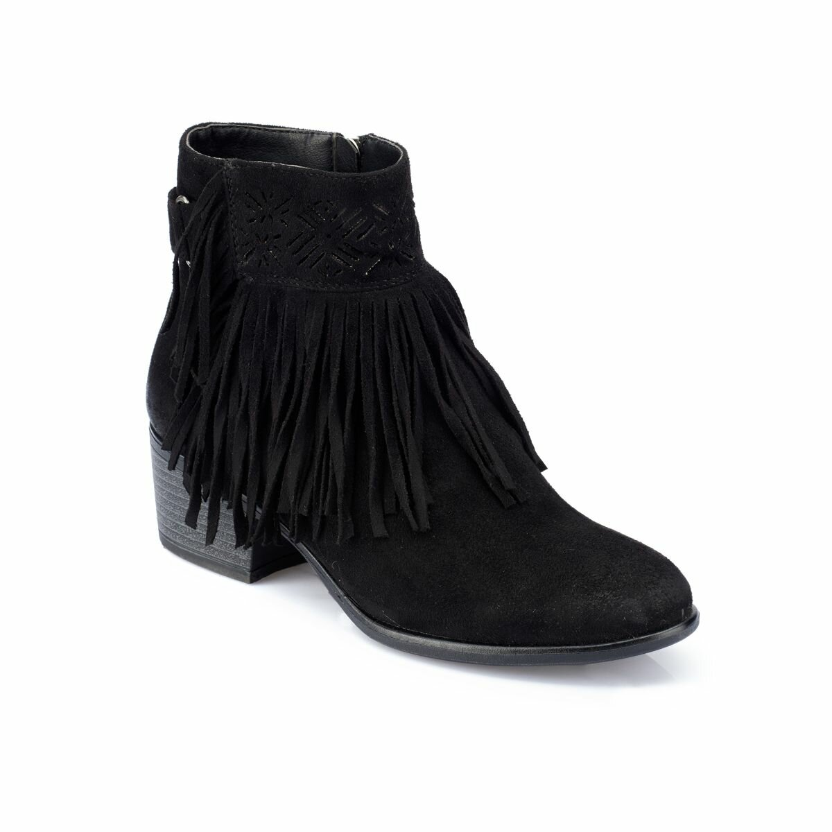 FLO 82.312260.Z Black Women Boots Polaris