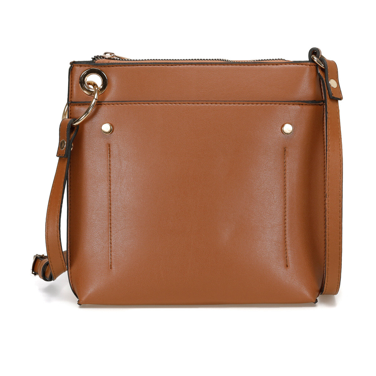 FLO 91.960. 702.C Tan Women Messenger Bag Polaris