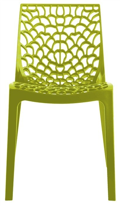Chair WHIM, Polypropylene Chartreuse Green *
