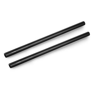 Image 2 - SmallRig Nero In Lega di Alluminio Standard di 15 millimetri Aste M12 Filetto Femmina 25 centimetri 10 Centimetri di Lunghezza (Coppia Pack) macchina fotografica Rod della Guida 1052