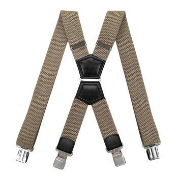 Szelki Heavy Duty 4 klipsy w kształcie litery X z żelazny pierścień regulowane elastyczne spodnie dżinsowe pas do spodni praca pończoch dla mężczyzn moda tanie i dobre opinie KBAP CN (pochodzenie) POLIESTER Stałe Dla osób dorosłych Chłopcy 42 dla osób o wzroście 5 0-5 9 QH-NP-210531-03