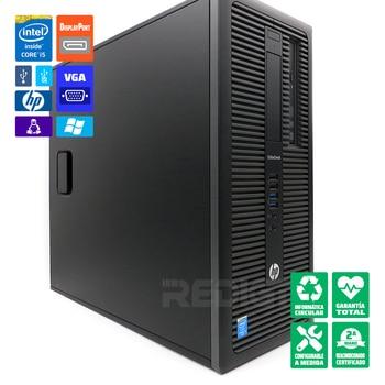 PC desktop HP EliteDesk 800 G1 Tower i5-4570 refurbished 8GB-RAM WiFi-2G/4G/5G-PCIe Windows 10 Pro update