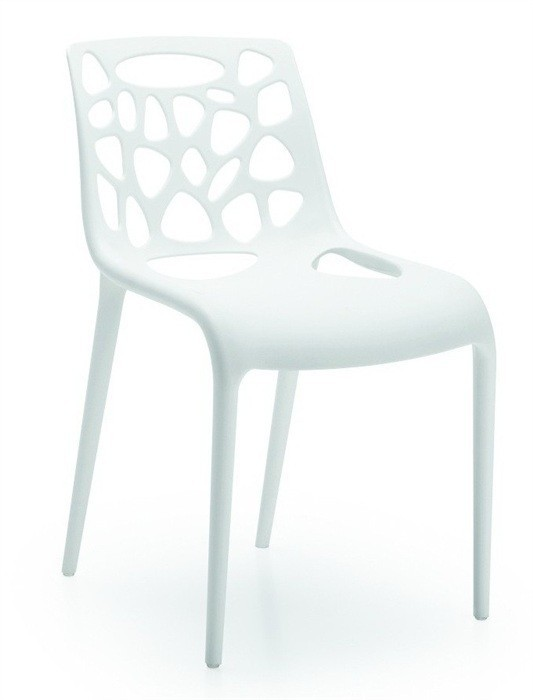 Chair EDEN, Polypropylene White *