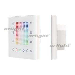 018202 Panel Sens SR-2831AC-RF-IN White (220 V, RGB 4 Zone) ARLIGHT 1-pc