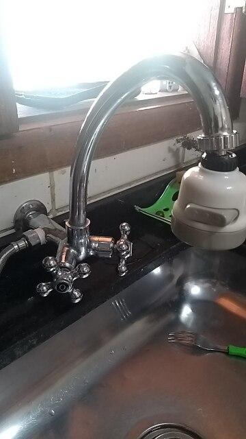 SUPER WATER SAVING 360° ROTATE KITCHEN TAP - walmastbuy photo review