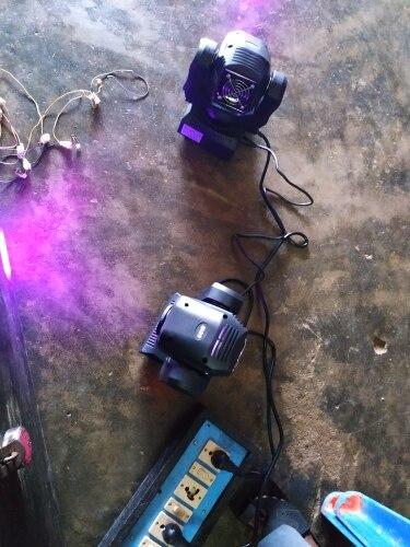 Efeito de Iluminação de palco dmx512 moving brilho