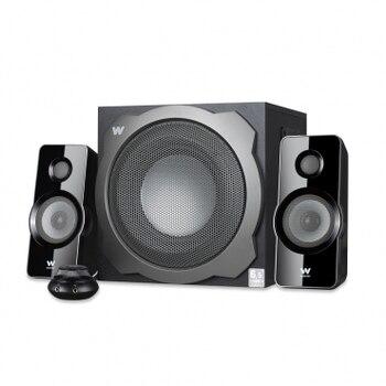 Woxter Big Bass 260 S - Altavoces 2.1 de 150w, Estantería, Home...