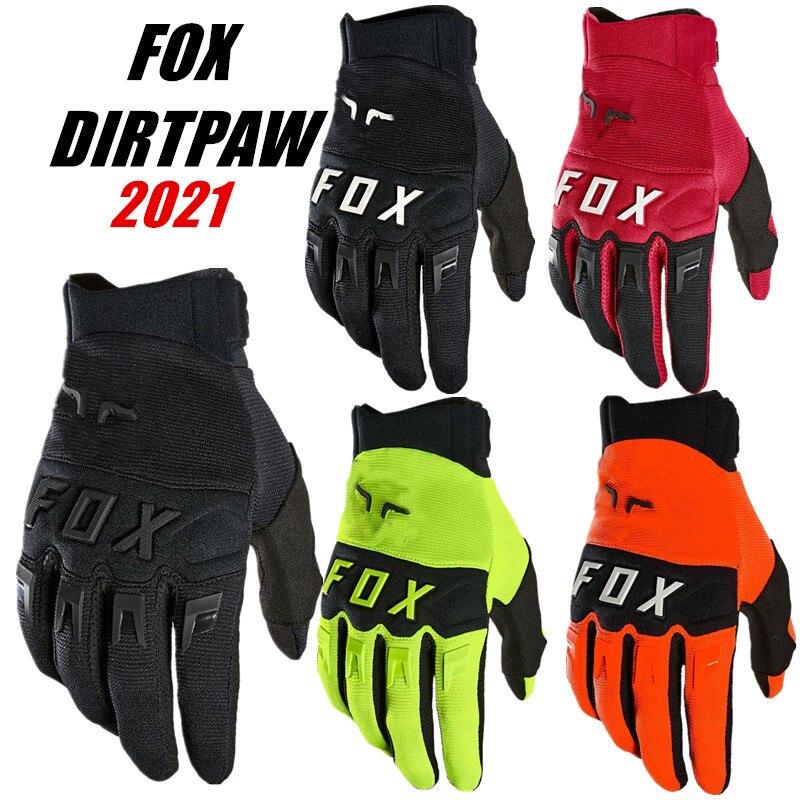 2021 FOX Dirtpaw перчатки для езды на горном велосипеде XC Топ Мотокросс Glocves ВМХ Велоспорт Велосипед Перчатка MTB перчатки