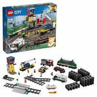 Diseñador Lego city 60198 tren de mercancías