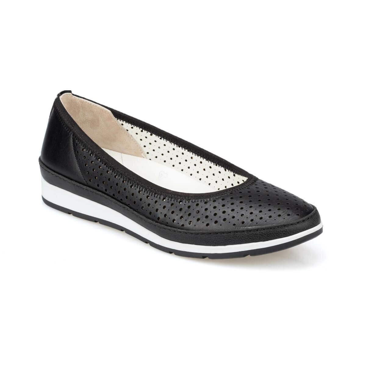 FLO 91. 100689.Z Black Women Shoes Polaris 5 Point