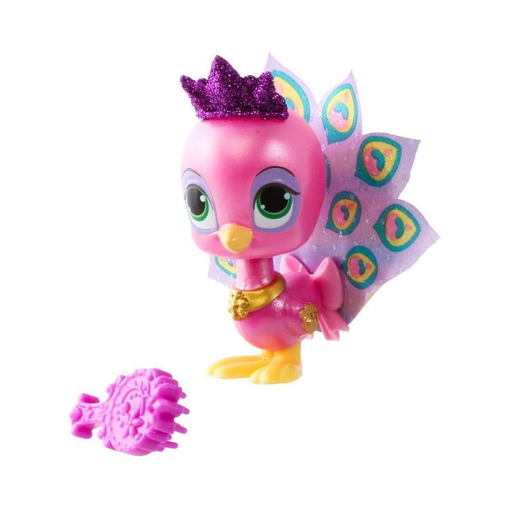 Île de paon, raiponce princesse Disney, animaux de compagnie du palais