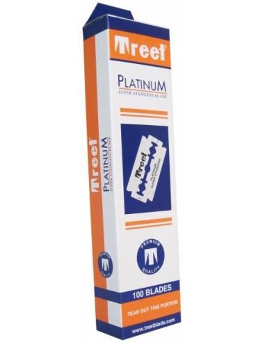 100 Treet Platinum Razor Blades