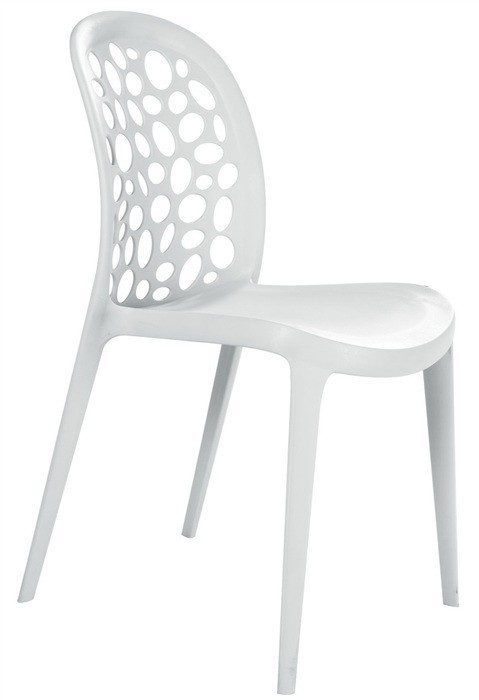 Chair ARASHI, Polypropylene White *