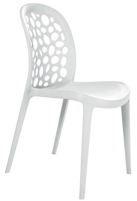 Chair ARASHI, Polypropylene White *