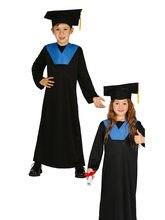 fiestas guirca disfraz de licenciado, estudiante, graduado, varias tallas infantil, para fiestas, carnaval