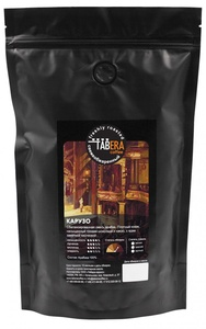Свежеобжаренный coffee Taber Caruso in beans, 500g